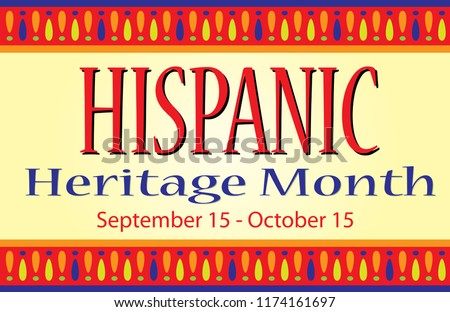 Hispanic Heritage Month Sign