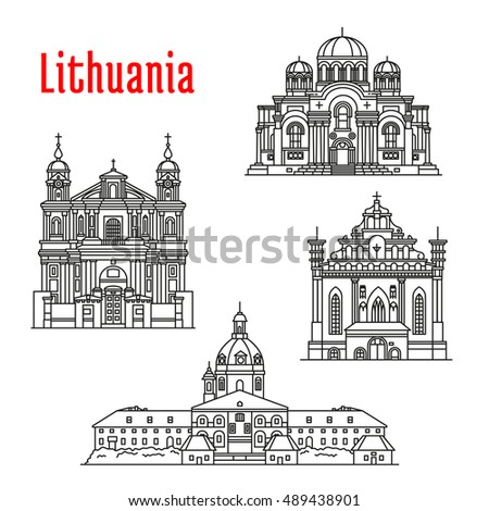 historic landmarks of lithuania
