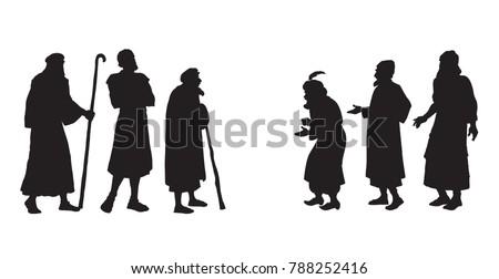 historic medieval israeli aged...