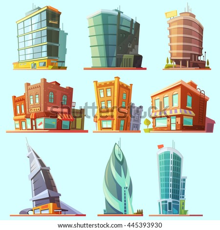 stock-vector-historical-and-modern-world-most-visited-famous-distinctive-buildings-icons-set-for-tourists