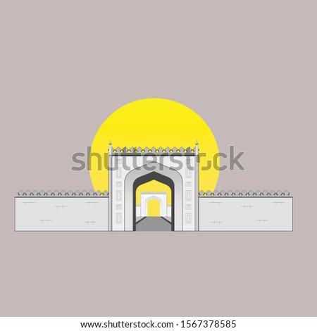 Historical Building - Gate of a Historical Park