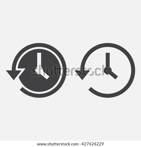 history line icon, outline and solid vector logo, linear pictogram isolated on white, pixel perfect illustration