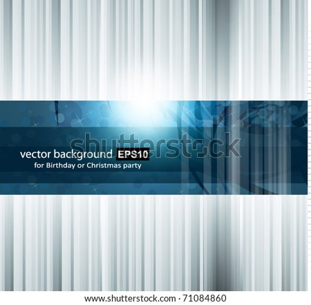 Hitech Abstract Business Background with Abstract Glowing motive stock photo