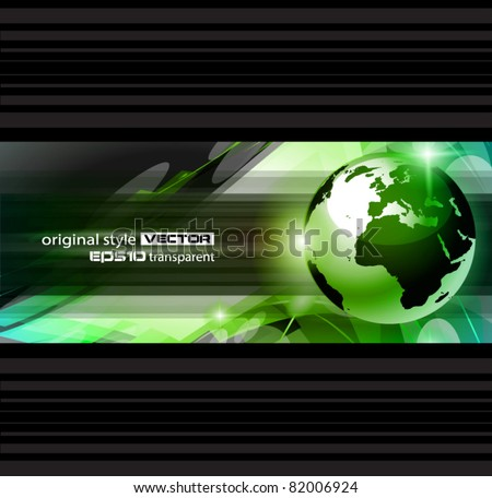 Hitech Abstract Business Background with Abstract Glowing motive to use for corporate presentation flyers or posters.