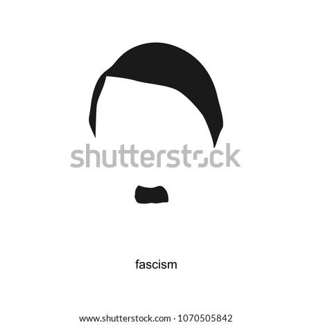 hitler vector portrait