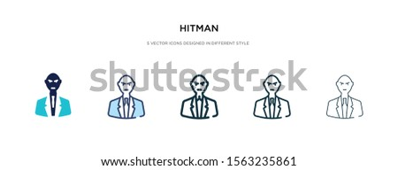 hitman icon in different style