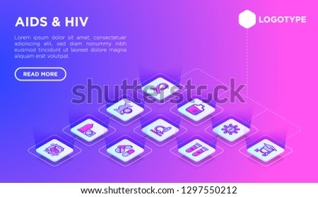hiv and aids web page template