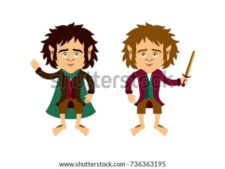 hobbit cartoon character