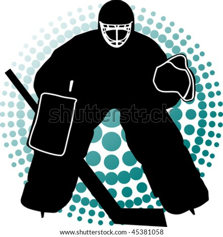 Hockey goalkeeper is there to protect the gate;