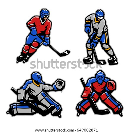 hockey players and goalkeepers