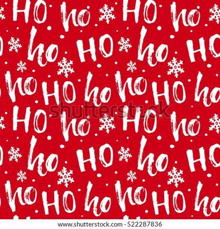 stock-vector-hohoho-pattern-santa-claus-laugh-seamless-texture-for-christmas-design-vector-red-background