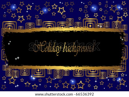 Holiday background with grunge a banner. vector.