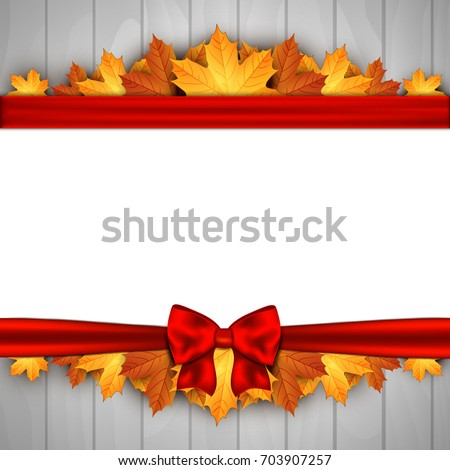 holiday banner on wooden wall