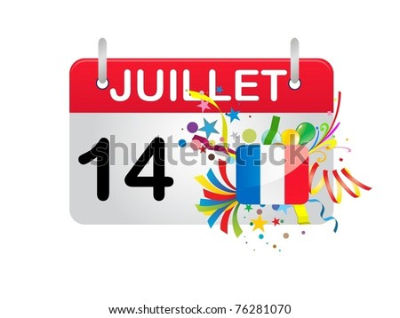 Holiday Calendar FRANCE National Day