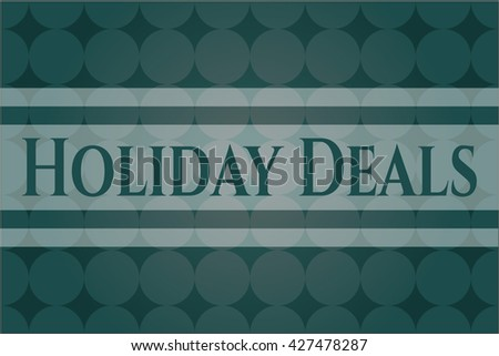 Holiday Deals card, poster or banner