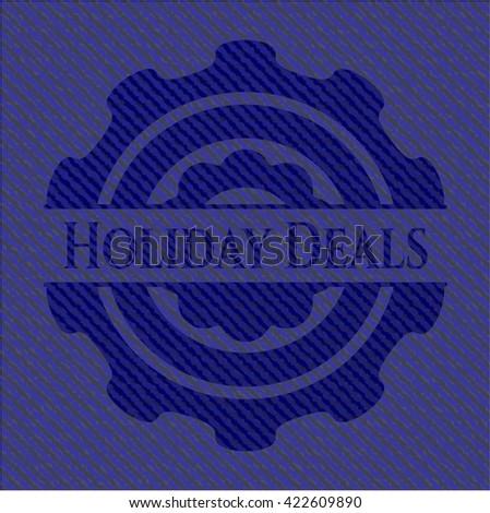 Holiday Deals denim background