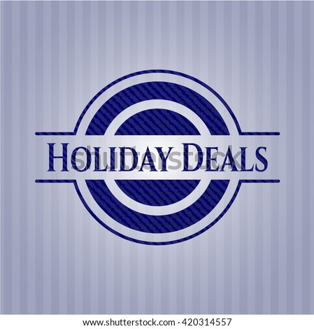 Holiday Deals jean background