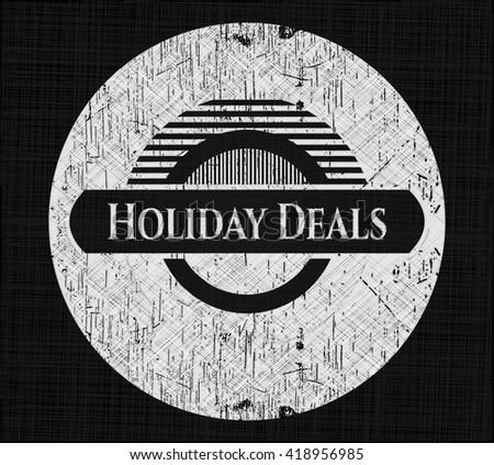 Holiday Deals on blackboard