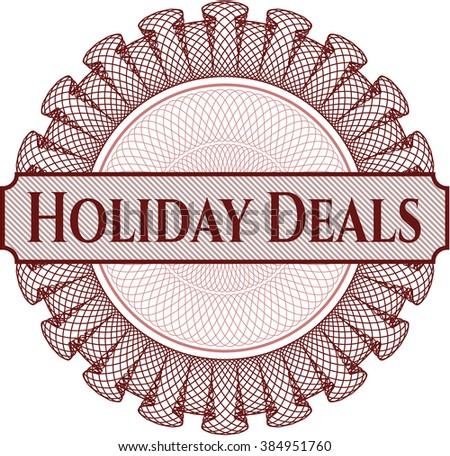 Holiday Deals rosette
