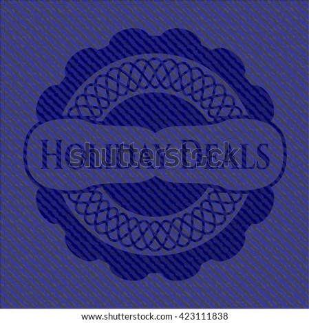 Holiday Deals with jean texture