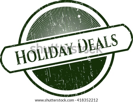 Holiday Deals with rubber seal texture