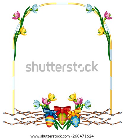 Holiday Easter frame