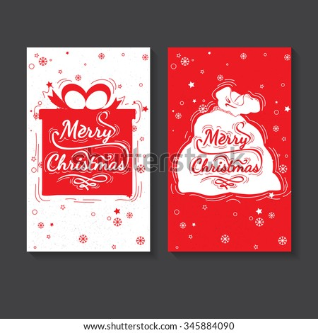 holiday greeting card design