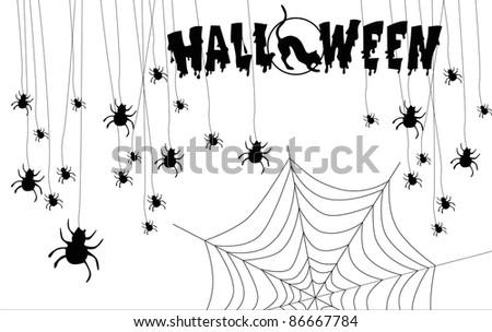 holiday Halloween (pumpkin costume night fire skull castle) #86667784