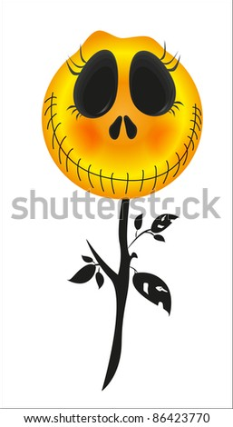 Holiday Halloween (pumpkin fire skull costume night)