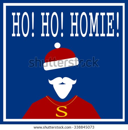 holiday hip hop santa greeting