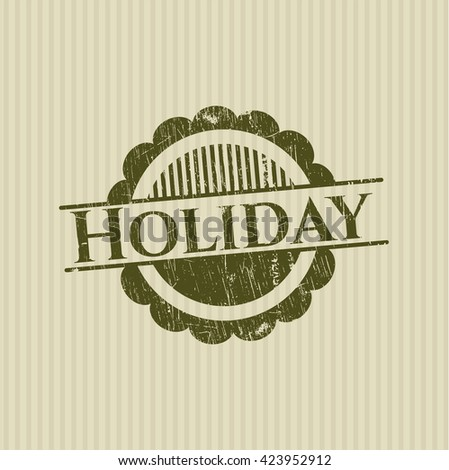 Holiday rubber seal