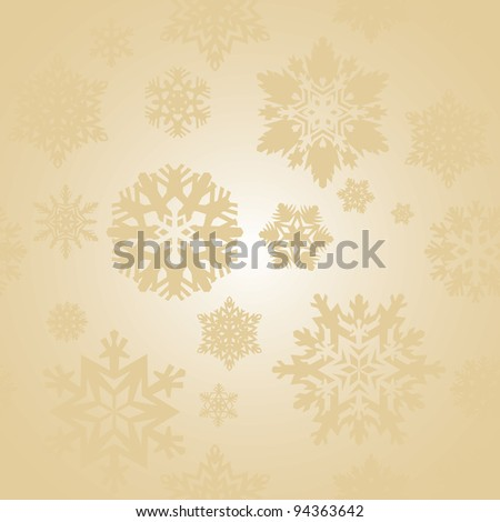 holiday seamless background with snowflakes