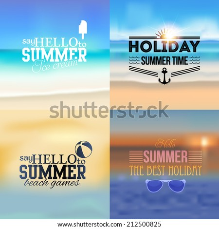 holiday  summer travel  tourism