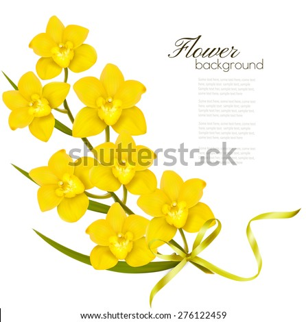 holiday yellow flowers