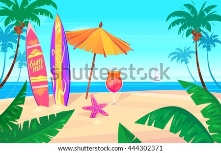 holidays by the sea landscape
