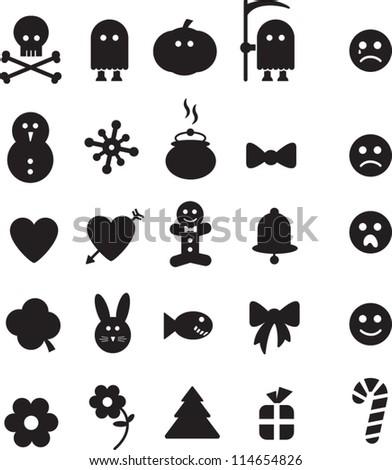 Holidays Icons