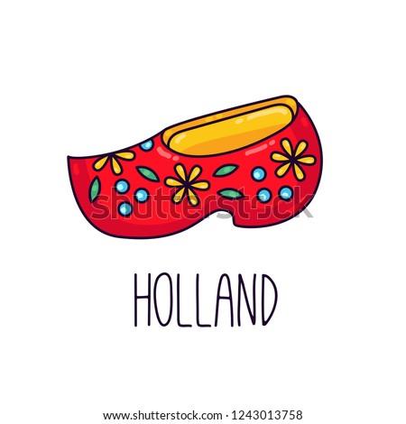 holland clog clomps netherland