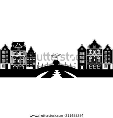 holland landscape city  bridge
