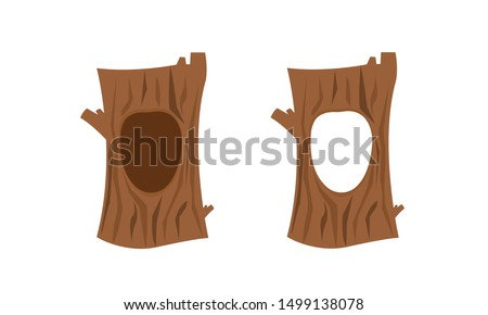 hollow tree set hole in the