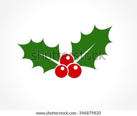 holly berry leaves christmas