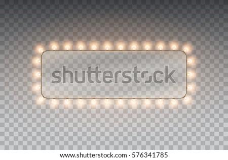 hollywood  lights illuminated