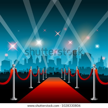 Hollywood movie film fetival red carpet star entrance background