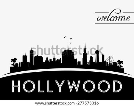 hollywood usa skyline