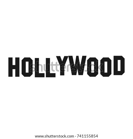 hollywood vector logo