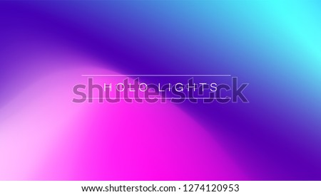 holo lights vector blue purple