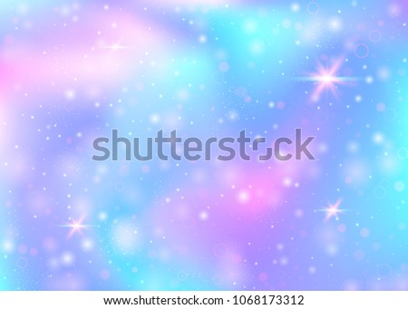 hologram background with