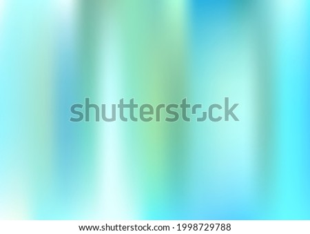 Holograph Minimal Banner. Gradient Girlie Foil Holo Teal. Rainbow Overlay Hologram Cover. Fluorescent Holographic Dreamy Girlie Horizontal Background Neon Paper Overlay, 80s, 90s Music Wallpaper Stock photo ©