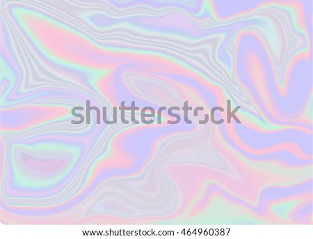 Holographic abstract background in pastel / neon color design. Vector illustration for your modern style trends 80s / 90s background for creative project design : fashion. cover, book, printing & more