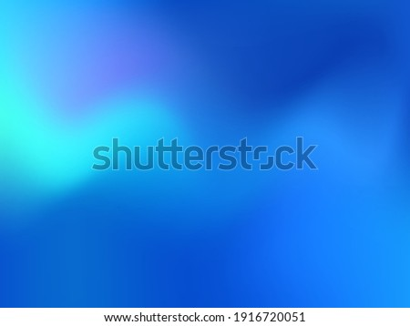 Holographic background. Bright, smooth mesh with a blurry futuristic pattern. Trendy advertising vector. Intense holographic spectrum gradient for printing products, covers.