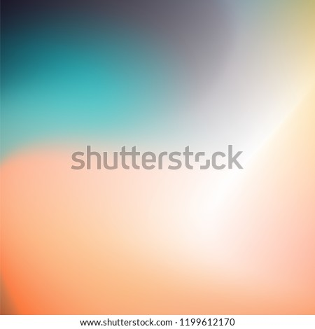 Holographic Colorful Abstract Blur Blob Gradient Mesh Background / Texture